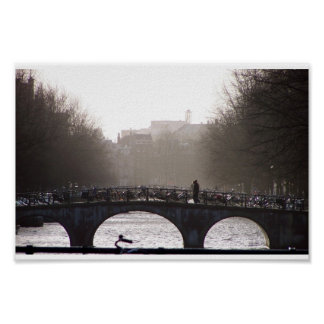 Morning in Amsterdam Poster