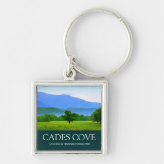 Morning in Cades Cove - Great Smoky Mountains Key Chain