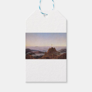 Morning in Riesengebirge - Caspar David Friedrich Gift Tags