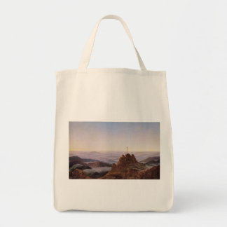 Morning in Riesengebirge - Caspar David Friedrich Tote Bag