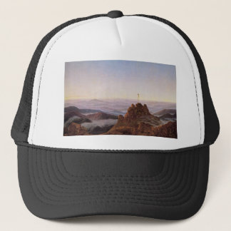 Morning in Riesengebirge - Caspar David Friedrich Trucker Hat