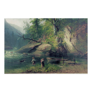 Morning in the Adirondacks Poster