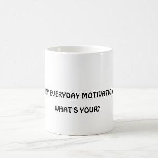 Morning Joe Cup Basic White Mug