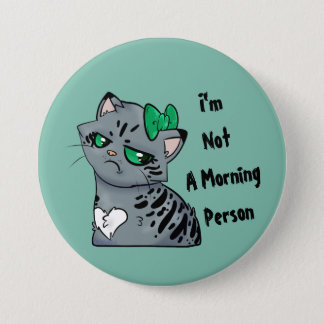 Morning Kitty Makenzee Button