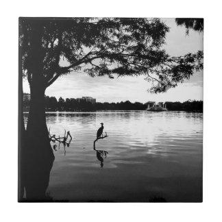 Morning Lake Tile
