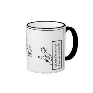 Morning Laughs - Drunk Ringer Mug
