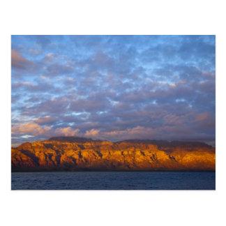 Morning light greets the Sierra de la Giganta Postcard