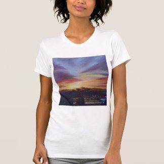 Morning Light in CHB Sunrise Painting T-Shirt