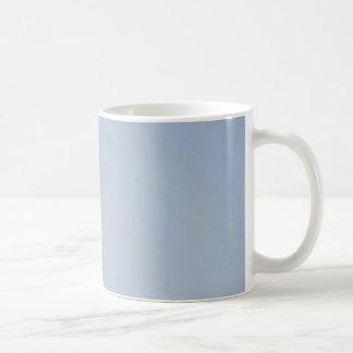 MORNING LIGHT (pale blue fade) ~ Basic White Mug