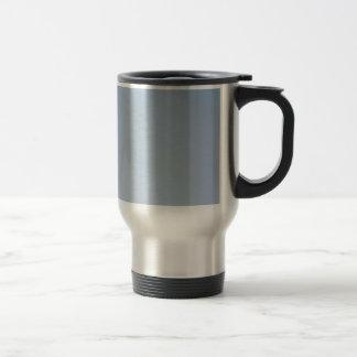 MORNING LIGHT (pale blue fade) ~ Stainless Steel Travel Mug