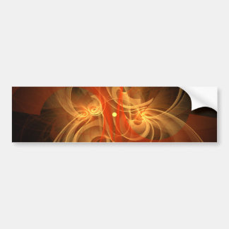 Morning Magic Abstract Art Bumper Sticker