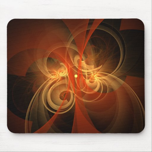 Morning Magic Abstract Art Mousepad