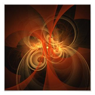 Morning Magic Abstract Art Photo Print