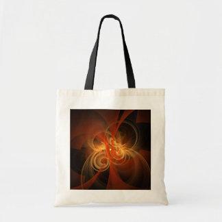 Morning Magic Abstract Art Tote Bag