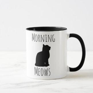 Morning Meows Mug