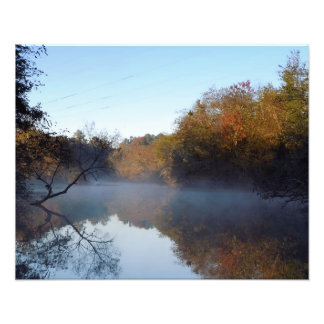 Morning Mist - Contentnea Creek, NC Photographic Print
