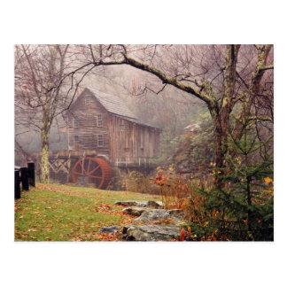 Morning Mist Postcard