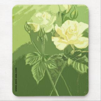 Morning Mist Roses Mousepad