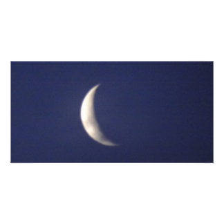 Morning Moon Customised Photo Card