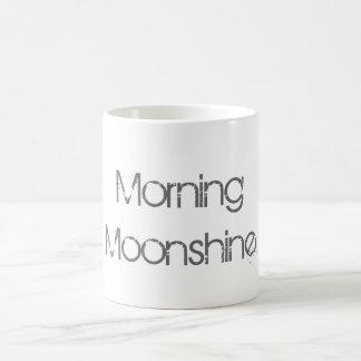 Morning Moonshine Basic White Mug