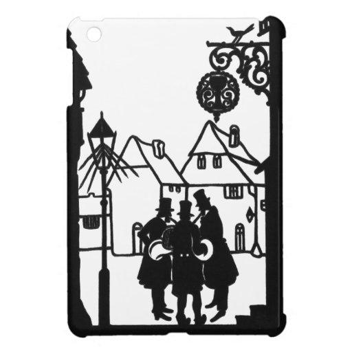 Morning Music Silhouette 1880 iPad Mini Cases