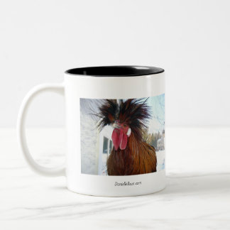 Morning Offering Rooster Mug