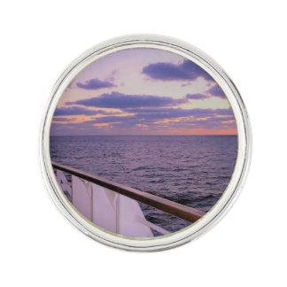 Morning on Board Lapel Pin