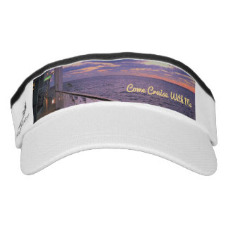 Morning on Deck Cruise with Me Visor