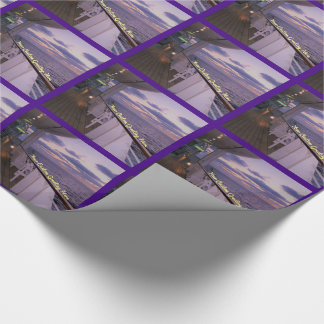 Morning on Deck Custom Wrapping Paper