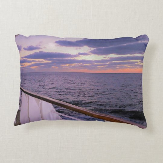 Morning on Deck Decorative Cushion