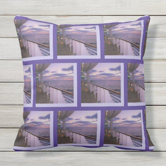 Morning on Deck Pattern Cushion