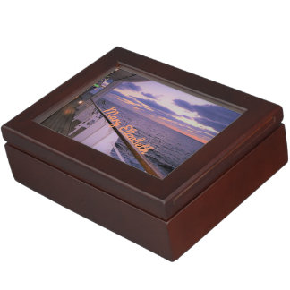 Morning on Deck Personalized Keepsake Box