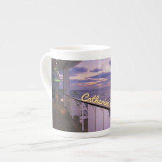 Morning on Deck Personalized Tea Cup