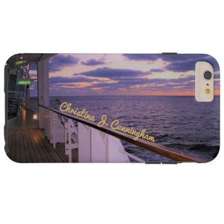 Morning on Deck Personalized Tough iPhone 6 Plus Case