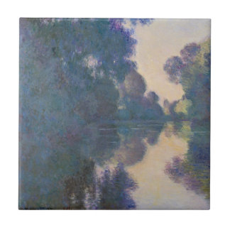 Morning on the Seine near Giverny Ceramic Tile
