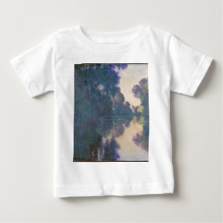 Morning on the Seine near Giverny - Claude Monet.j Baby T-Shirt
