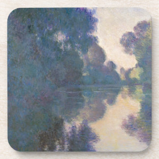 Morning on the Seine near Giverny - Claude Monet.j Coaster