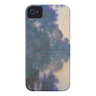Morning on the Seine near Giverny - Claude Monet.j iPhone 4 Case