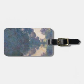 Morning on the Seine near Giverny - Claude Monet.j Luggage Tag