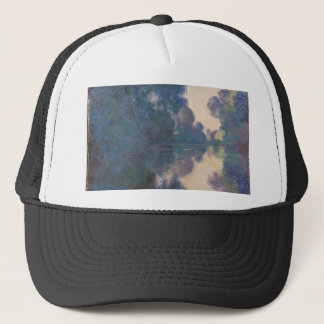 Morning on the Seine near Giverny - Claude Monet.j Trucker Hat