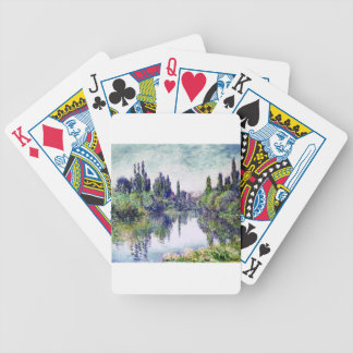 Morning on the Seine, near Vetheuil - Claude Monet Bicycle Playing Cards