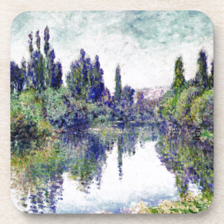 Morning on the Seine, near Vetheuil - Claude Monet Coaster