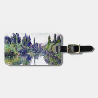 Morning on the Seine, near Vetheuil - Claude Monet Luggage Tag