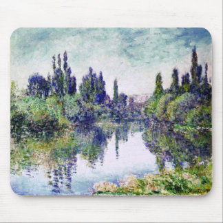 Morning on the Seine, near Vetheuil - Claude Monet Mouse Pad