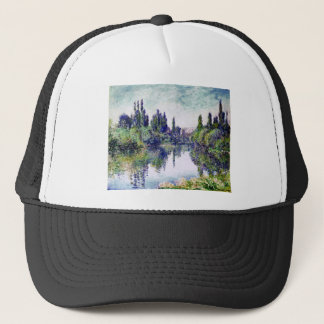 Morning on the Seine, near Vetheuil - Claude Monet Trucker Hat