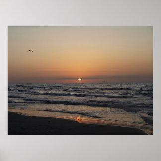 Morning over Port Aransas_2 Poster