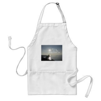 Morning over the Mediterranean Sea Standard Apron