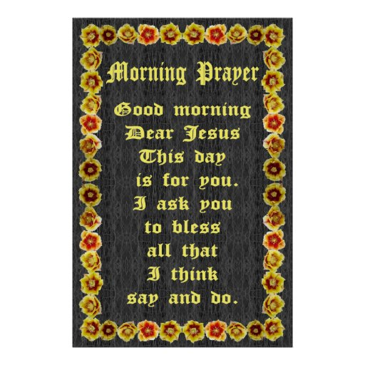 Morning Prayer in a Prickly Pear Cactus Frame Print