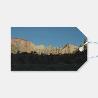 Morning Red Rocks at Zion II Gift Tags