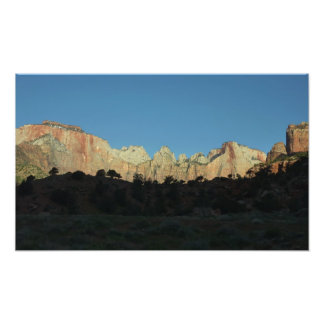 Morning Red Rocks at Zion II Photo